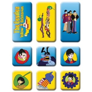 The Beatles/ Yellow Submanrine/ Fridge Magnet Set (2-3일 내 배송 가능)