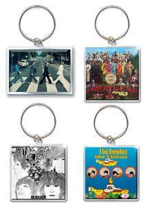 The Beatles/ Keychain (4종 중 선택)