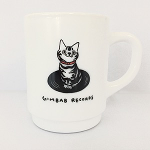 Gimbab Records/ Logo Mug