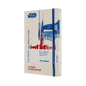 Star Wars / X-Wing Ruled Notebook(Hard Cover, Limited Edition) (2-3일 내 발송, 한정수량 할인 판매)