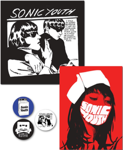 Sonic Youth/ Goo, Nurse, Button & Sticker Pack (2-3일 내 배송 가능)