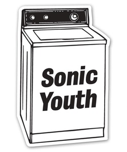 Sonic Youth/ Washing Machine Sticker