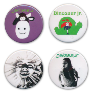 Dinosaur Jr. / Dinosaur Jr. 4 Button Pack (2-3일 내 배송 가능)