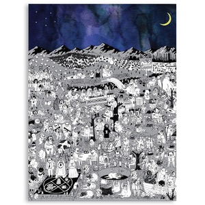 Father John Misty / Pure Comedy (Poster, 한정 제작)