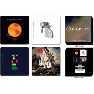 Coldplay / Coaster Set (4ea)(2-3일 내 배송 가능)