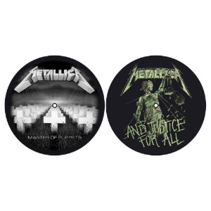 Metallica / Master of Puppets and Justice For All Slipmat Set